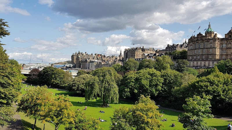 Photo of Princes Street Gardens in New Town